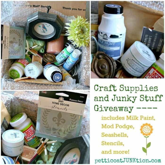 Big Craft Supply and Junk Treasure giveaway