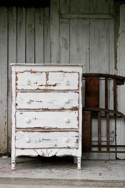 Dare To Distress Shabby Chic Coastal Furniture Project Petticoat Junktion