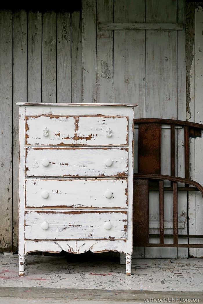 Dare To Distress Shabby Chic Coastal Furniture