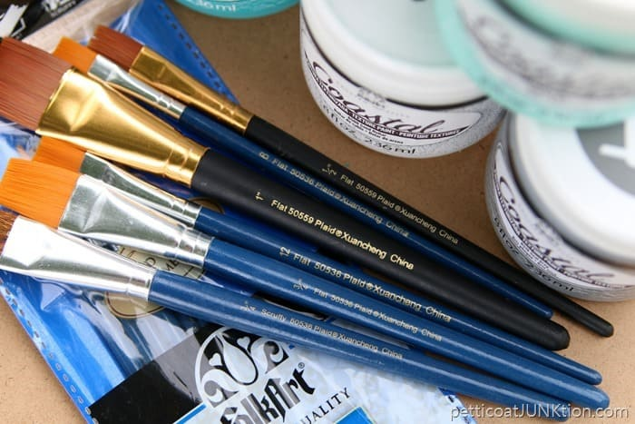 FolkArt Paint Brushes