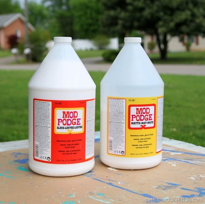 Gloss Mod Podge and Matte Mod Podge Gallon size