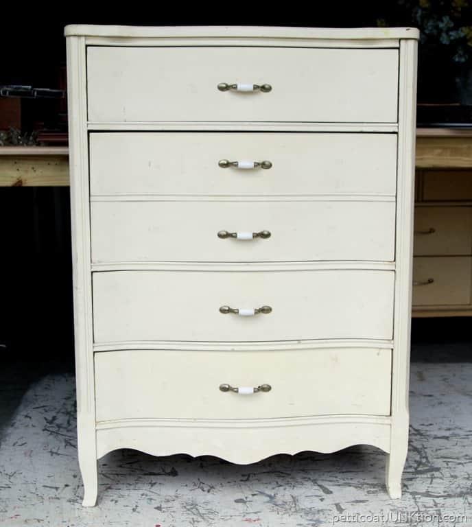 Nashville Flea Market furniture find