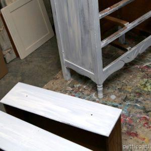 Dare To Distress | Shabby Chic Coastal Furniture Project