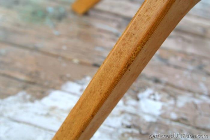stain spots on furniture veneer