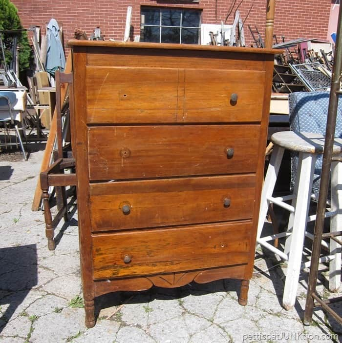 vintage chest from my favorite junk shop