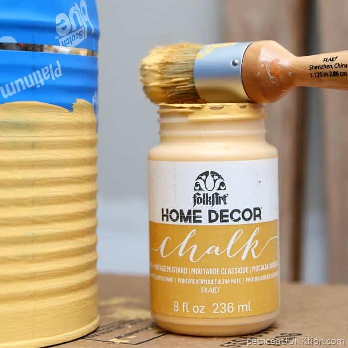 FolkArt Chalk color Mustard