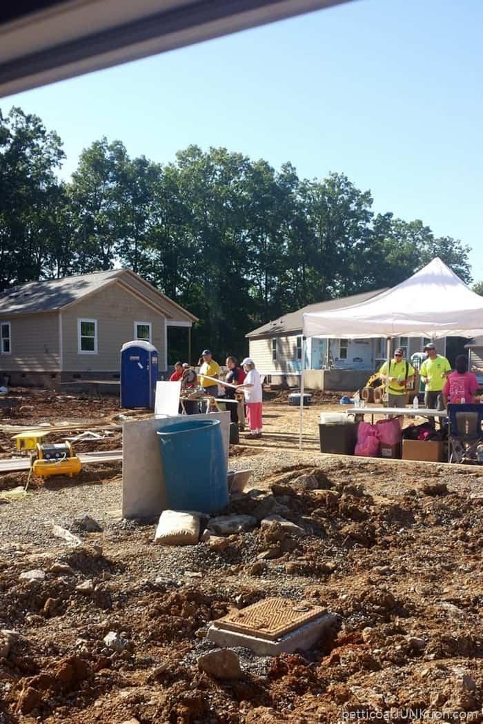 Habitat build in Nashville