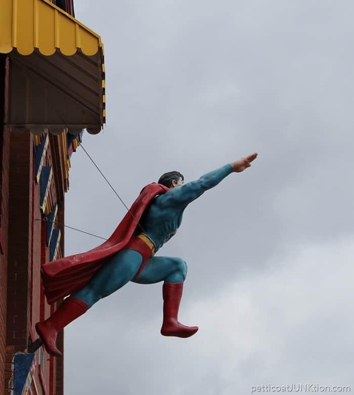 Metropolis Illinois home of Superman and junk shops
