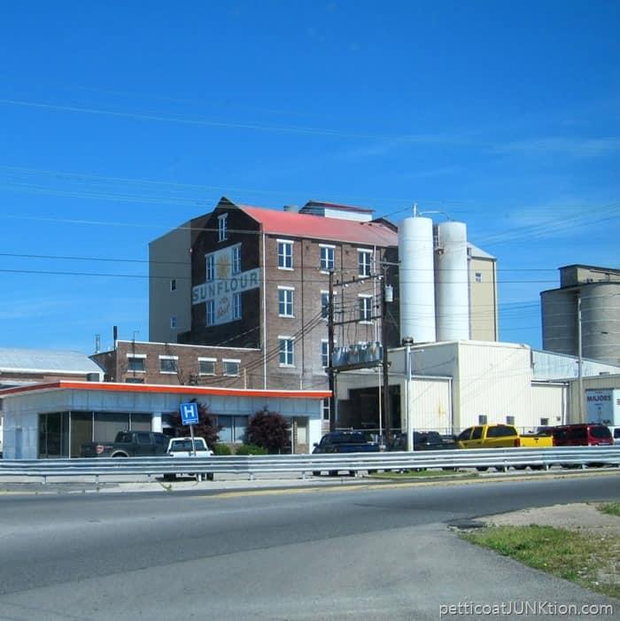 Sunflower Flour building Hopkinsville Kentucky