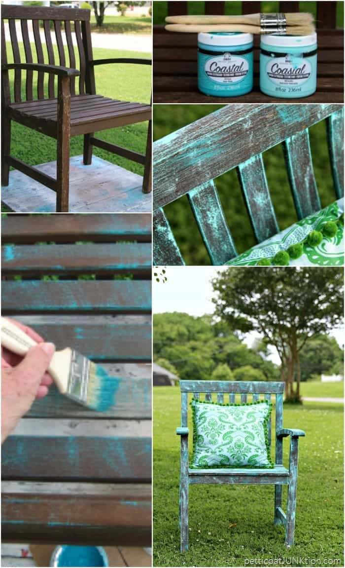 dry brush furniture painting technique