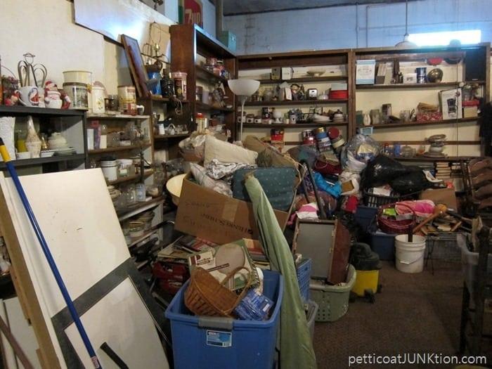 junk shop backroom. 2