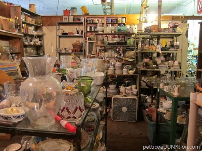 junk shop backroom. 4