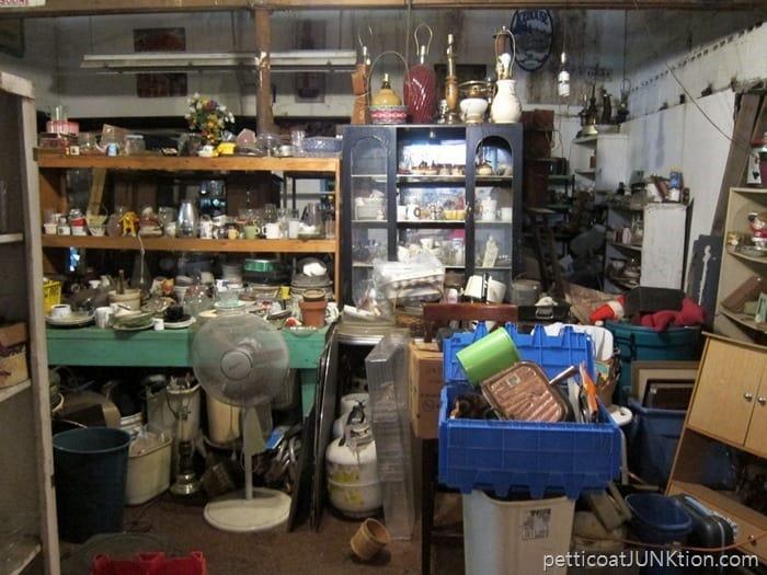 junk shop backroom. 7