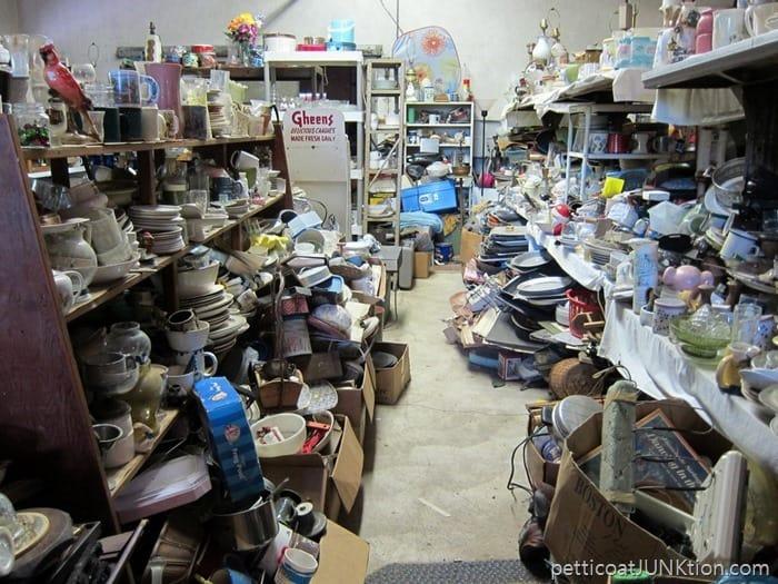 junk shop backroom. 8