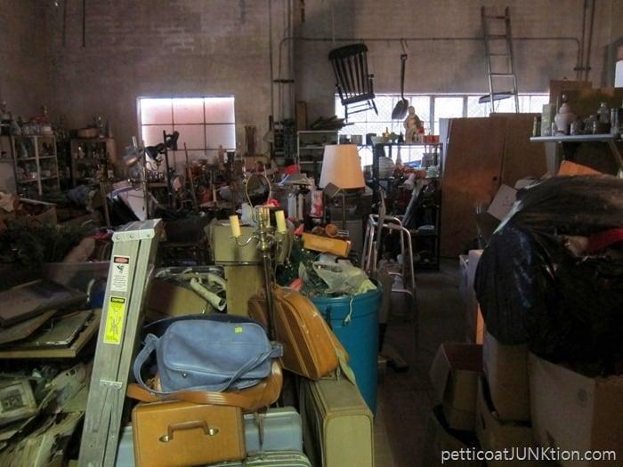 junk shop backroom. 9