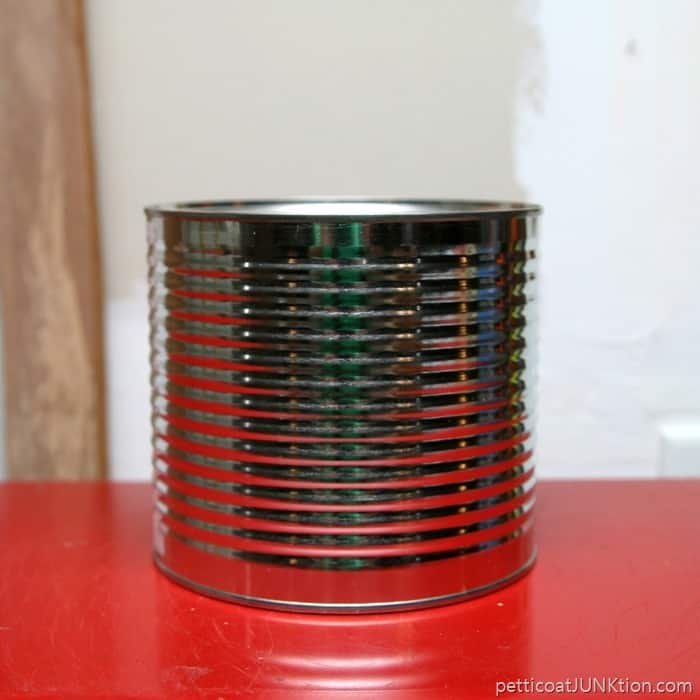 metal coffee can recycle project