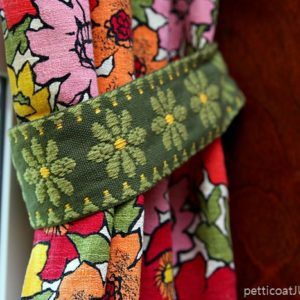 Vintage Barkcloth Curtains | One Becomes Two