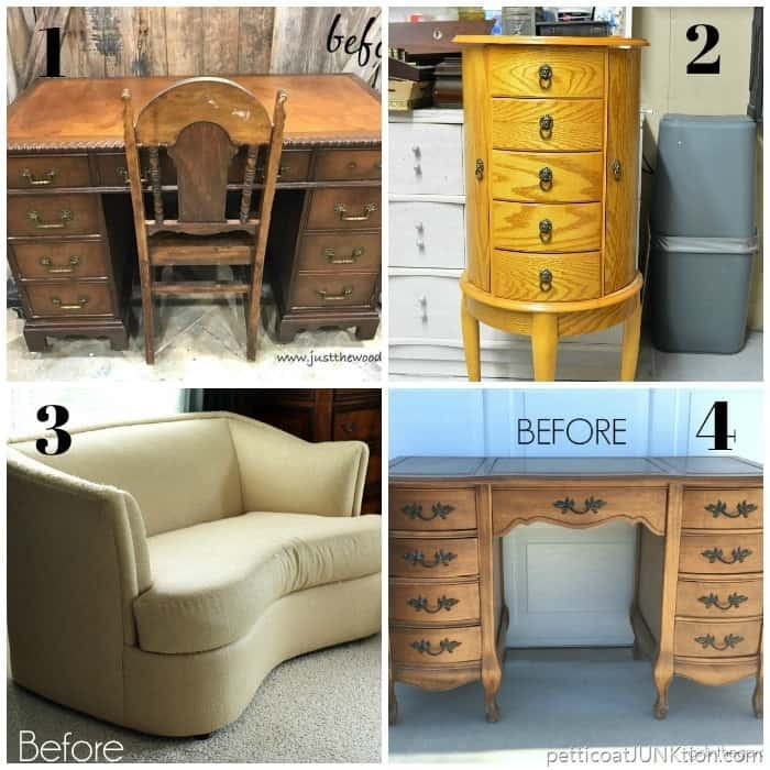 Furniture Fixer Upper June before collage