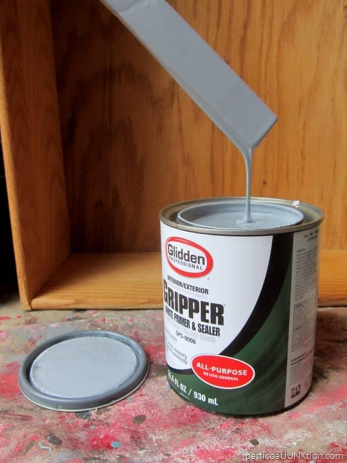 Glidden Gripper Primer tinted gray