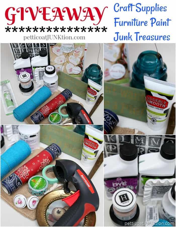 June Craft Giveaway Petticoat Junktion