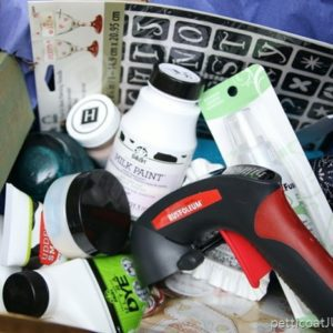 craft supplies giveaway box