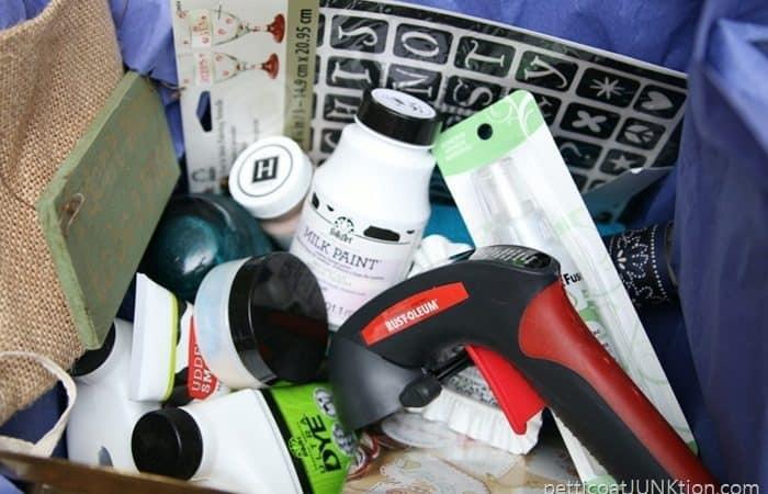 craft supplies giveaway box