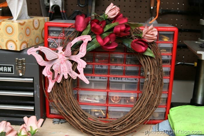second look at grapevine wreath