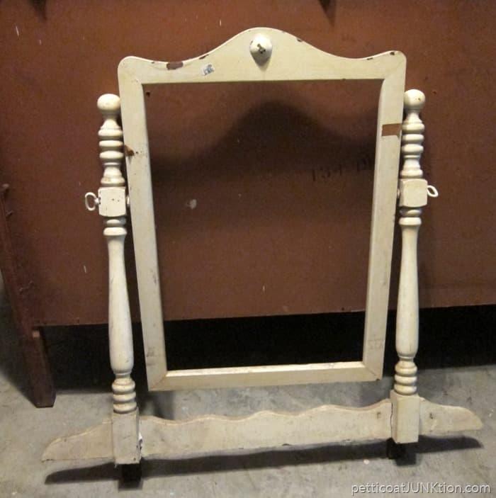 vintage dresser mirror frame