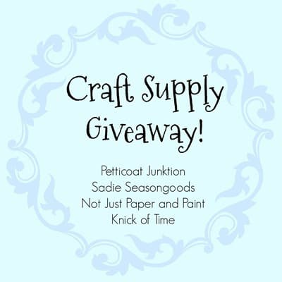 Craft Supply Giveaway_July 2017