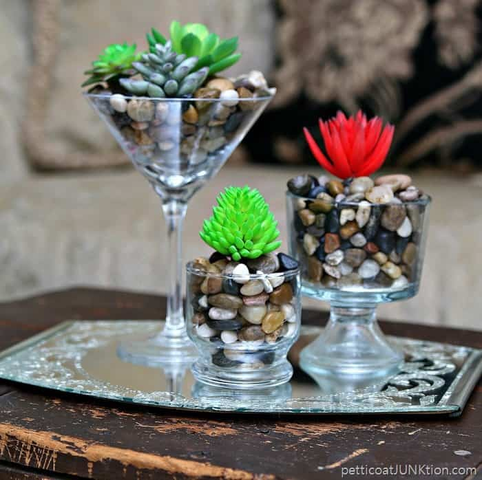 Fancy Faux Succulents Never Need Watering