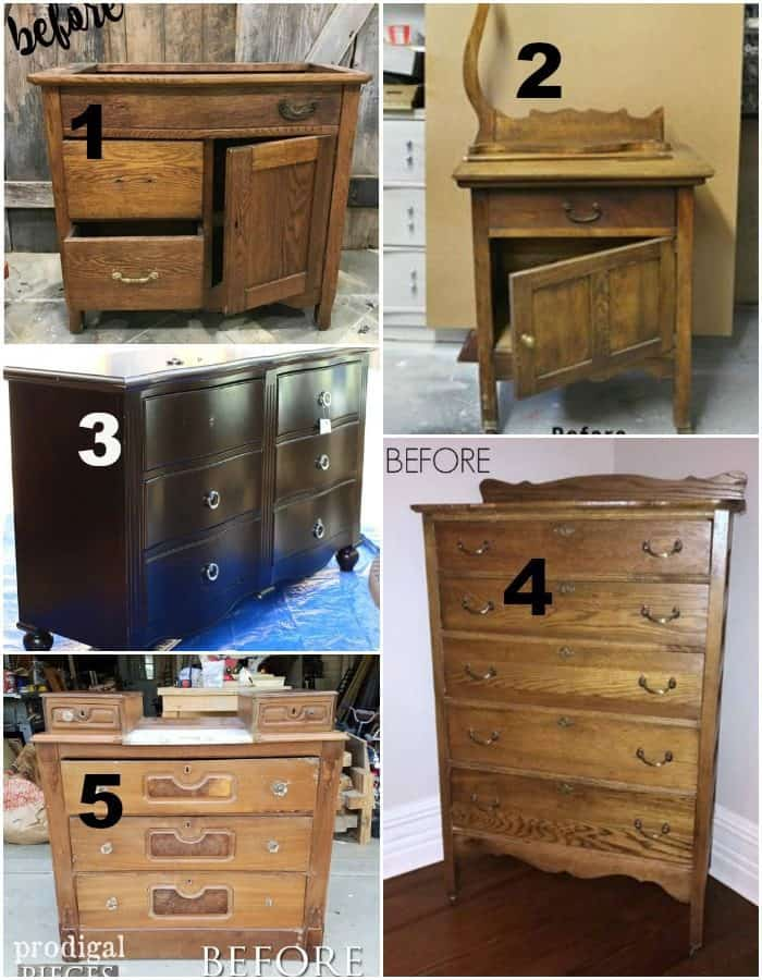 Furniture Fixer Uppers July Furniture Makeover Projects