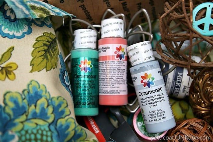 Glitter Paint & Fun Stuff In Craft Giveaway Box