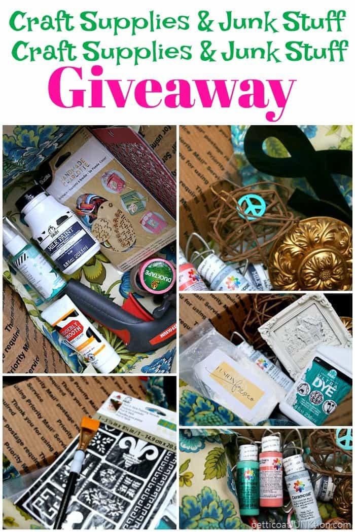 Glitter Paint and Fun Stuff Craft Giveaway Box