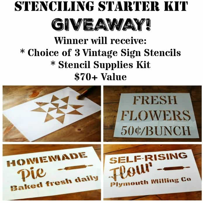 Vintage-Sign-Stencils-Supplies-Giveaway-at-Knick-of-Time