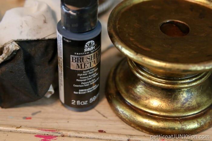 black matte finish metallic paint