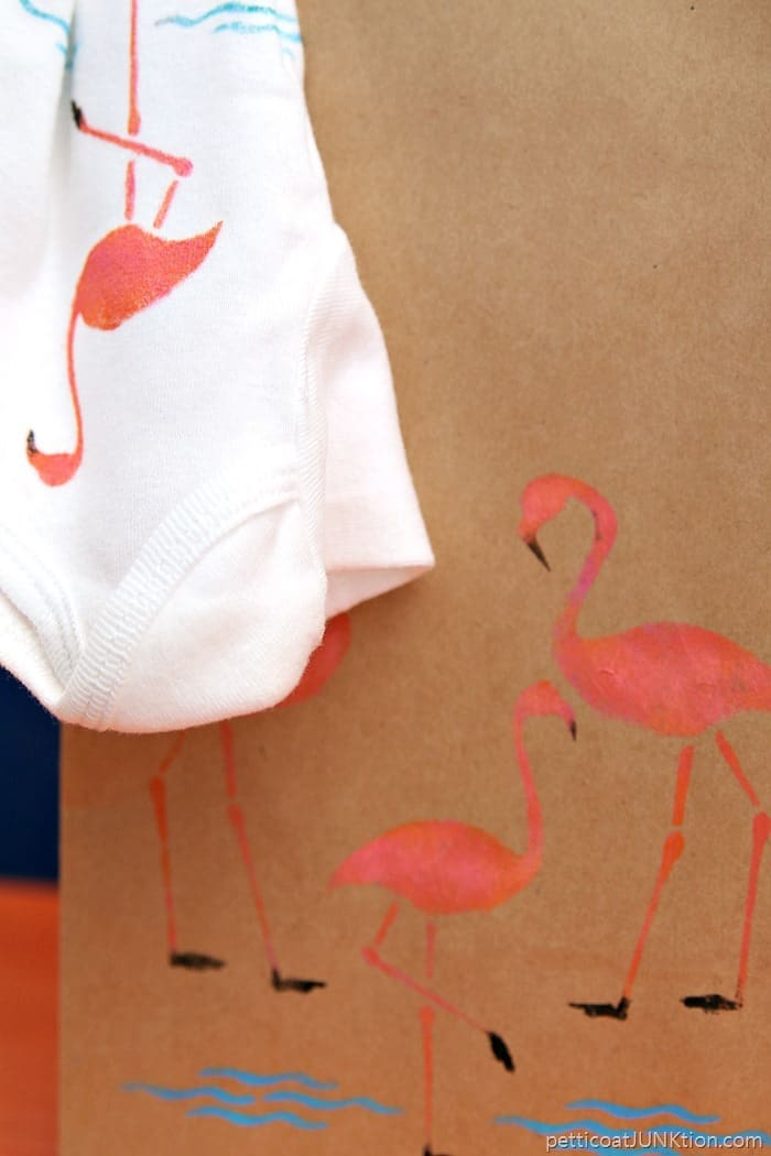 Pink Flamingo Projects And Promised Stencil Giveaway