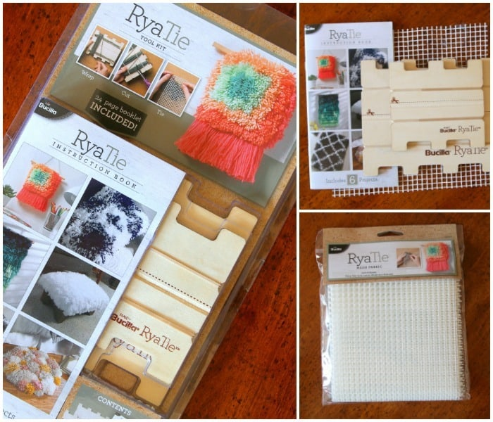 Bucilla RyaTie Kit with instuction booklet