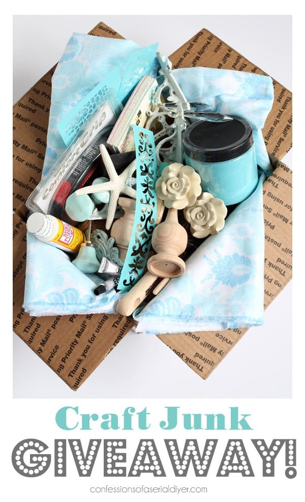August Craft Junk Giveaway from Confessions of a Serial DIYer