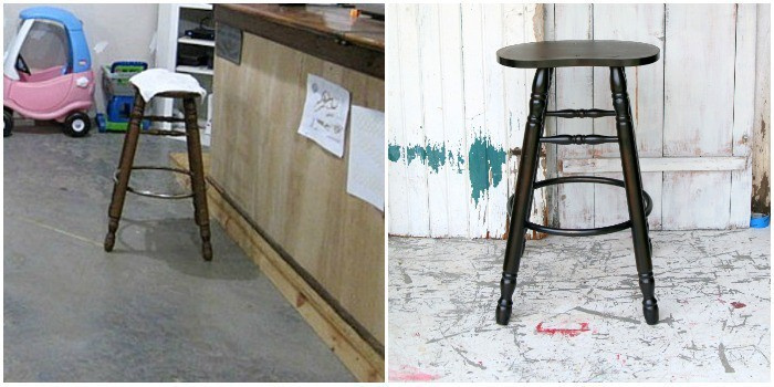 bar stool for makeover