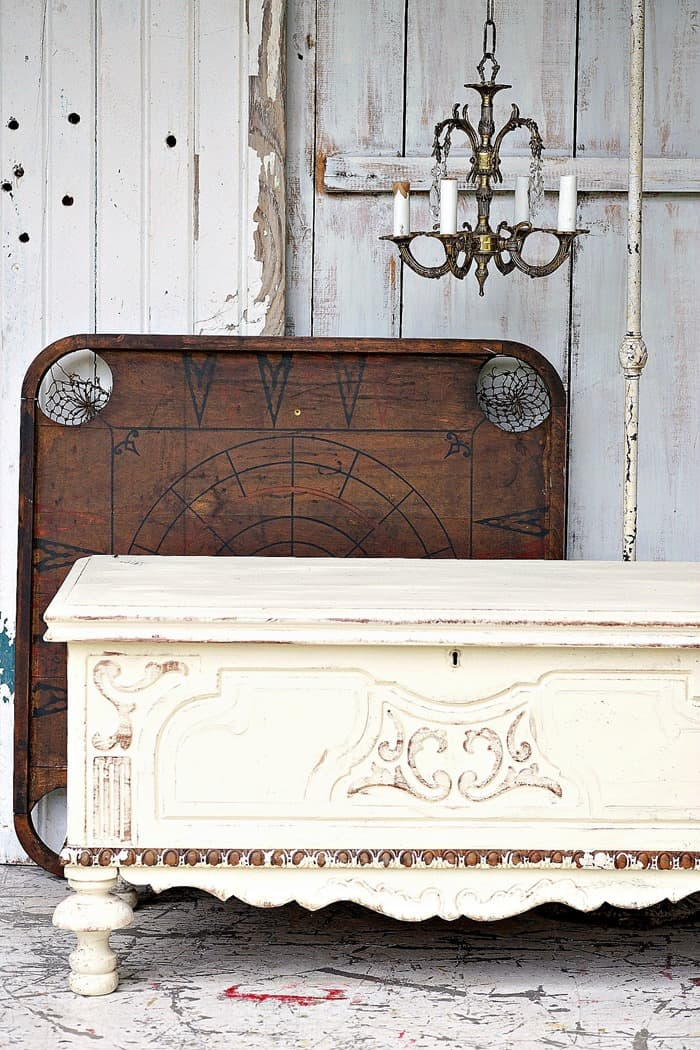 how to antique furniture with everyday tools and paint