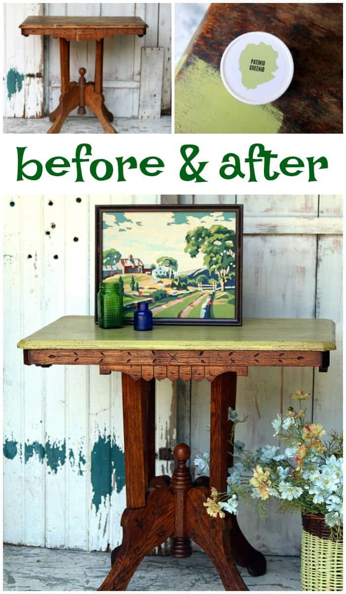 how to restore a furniture finish and add paint too