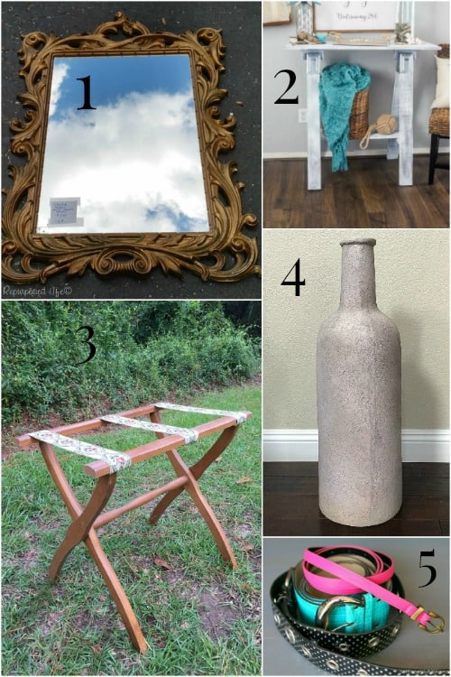 thrift store decor for makeovers