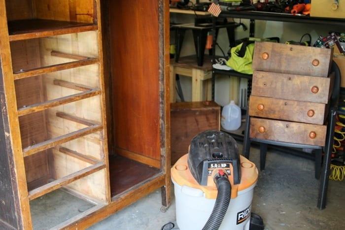 vintage wardrobe repairs