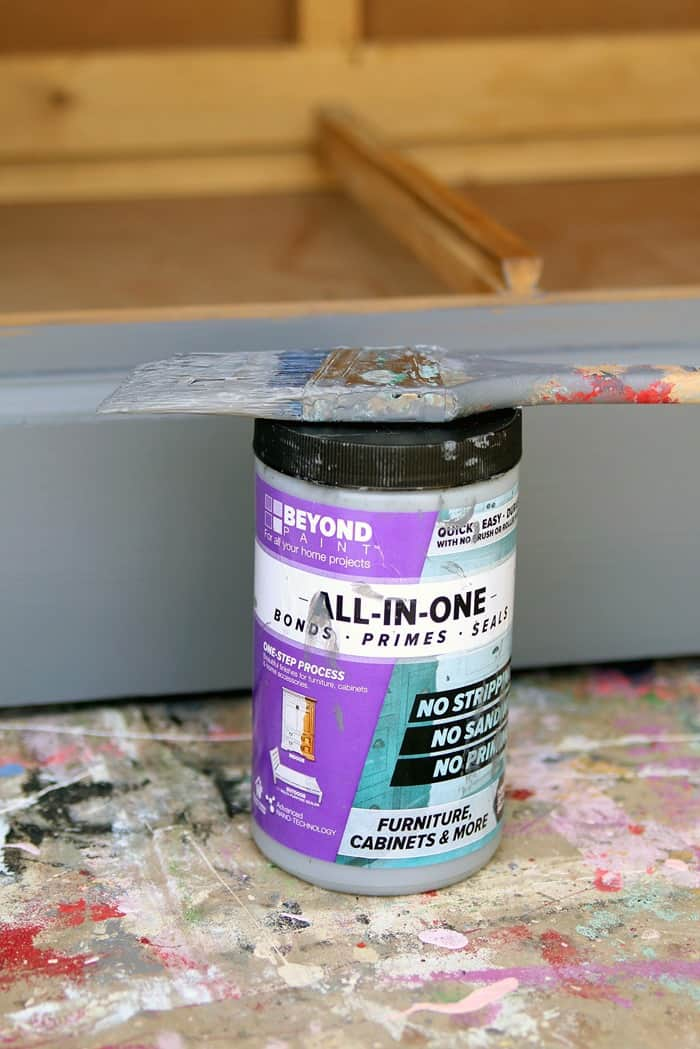 Beyond Paint for furniture project