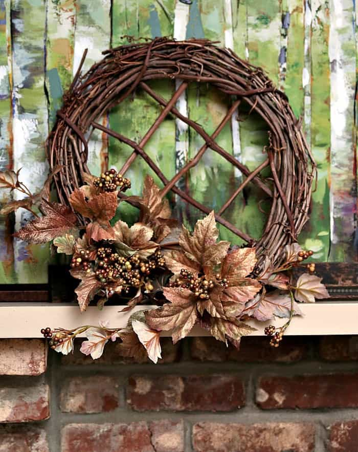 Grapevine Wreath DIY