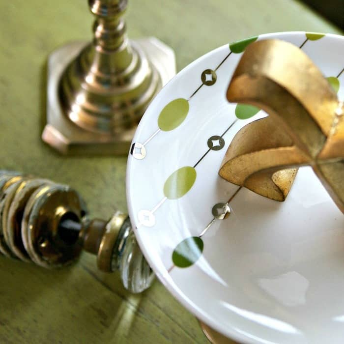 Scrumptious Serving Stands Made From Pier1 Dishes And Brass Candlesticks
