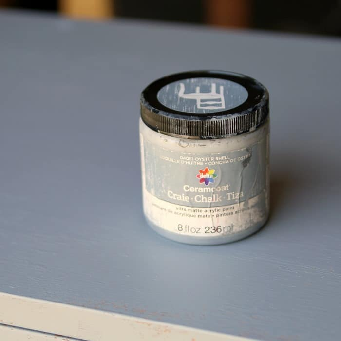 ceramcoat paint color oyster shell
