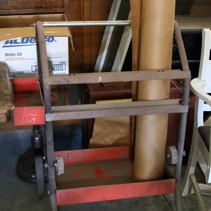 sheetrock cart
