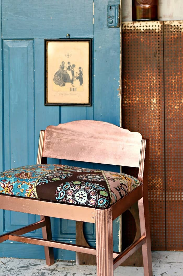 Boho Chic Furniture Makeover For My Alter Ego Hippie Self