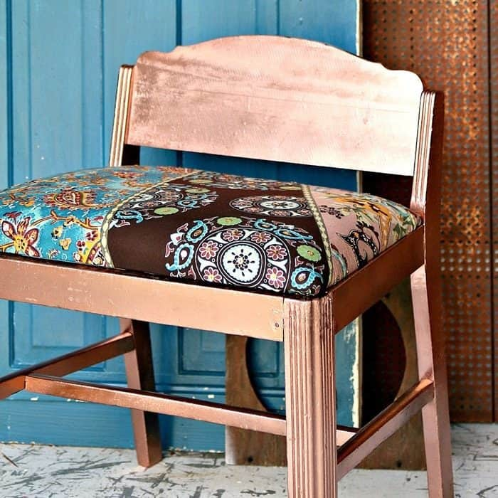 Boho chic furniture makeover